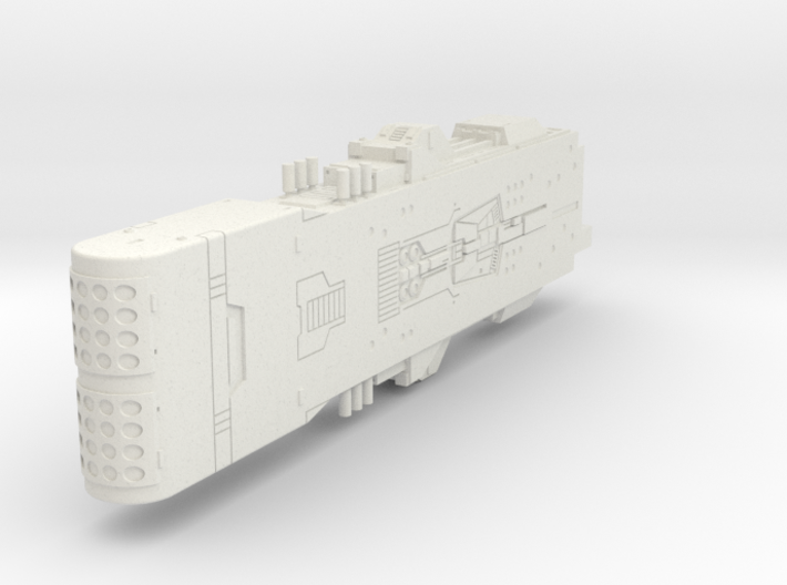 LoGH Alliance Hyperion 1:3000 (Part 1/2) 3d printed