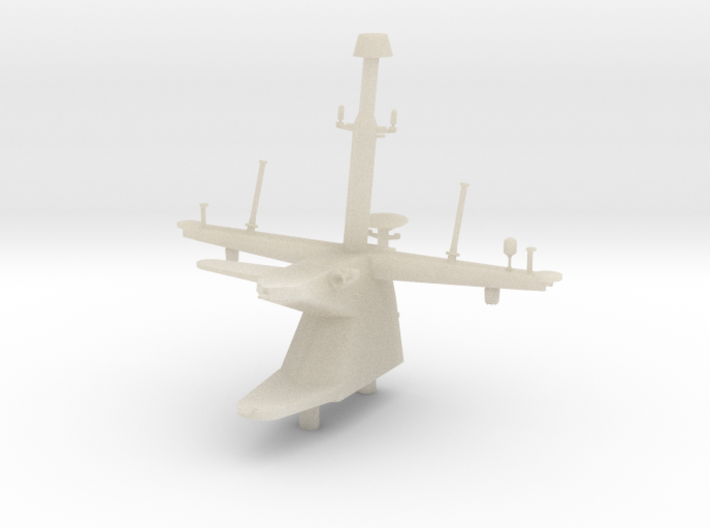 1/96 Scale LCS USS Freedom Class Mast 3d printed