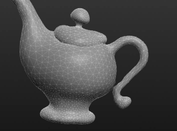 Whimsical Teapot (plain so it can be painted by y 3d printed