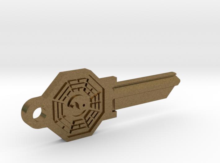 Bagua House Key Blank - SC1/68 3d printed