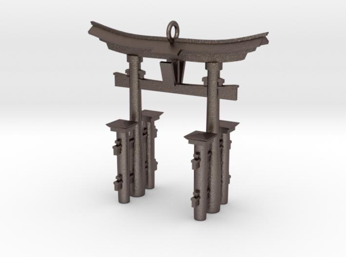 Torii Gate Pendant / Keychain 3d printed