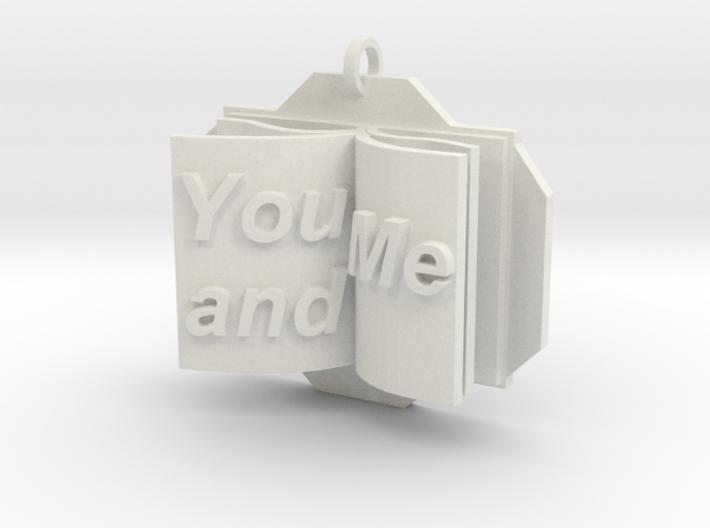 You&Me Pendant 3d printed