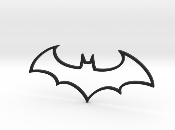 Batman Symbol 3d printed