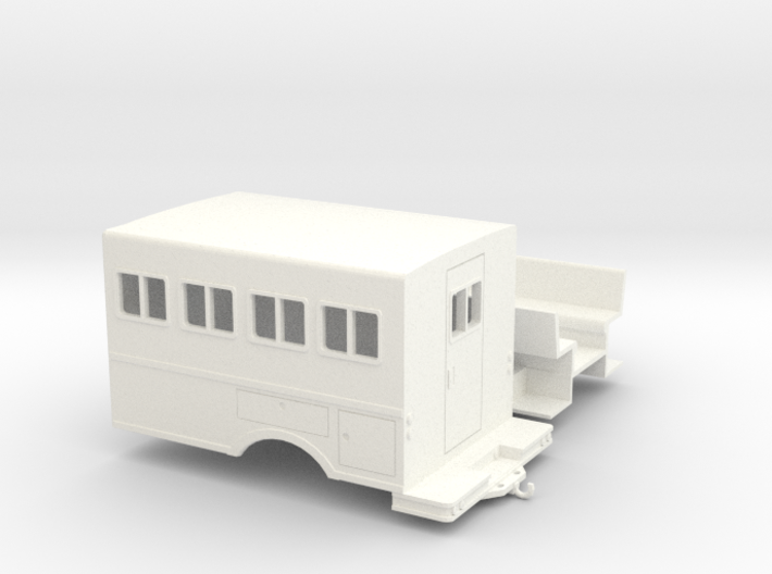 1/50th logging or fire crew transport 'Crummy' Bus 3d printed
