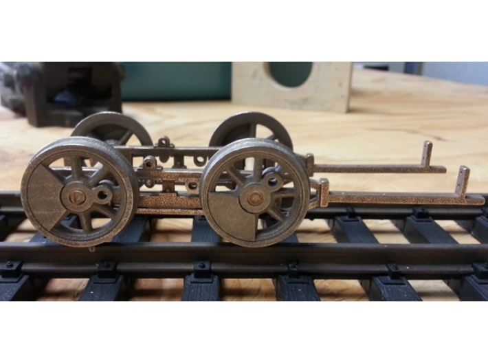 1:20.32 scale wheels  3d printed Test fitting Wheels to frame