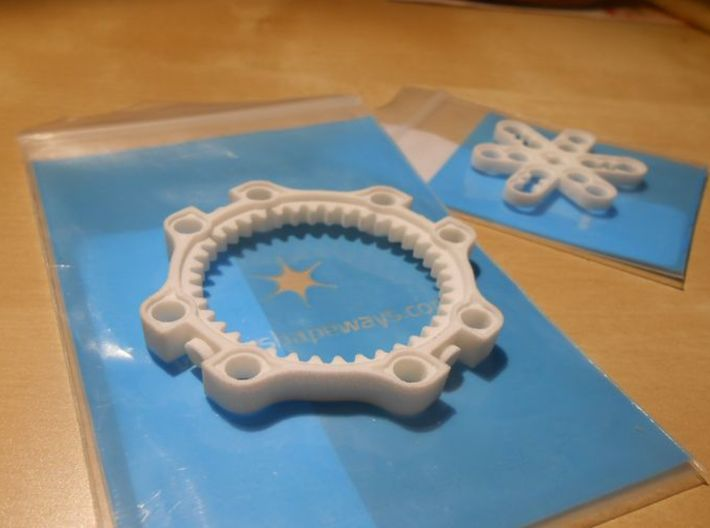 LEGO®-compatible 40-teeth ring gear 3d printed ring gear and planet carrier