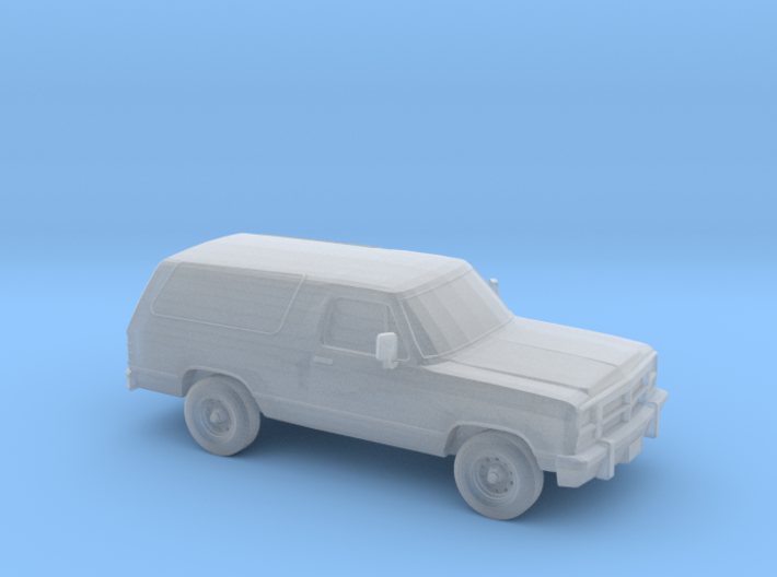 1/87 1993 Dodge Ramcharger 3d printed