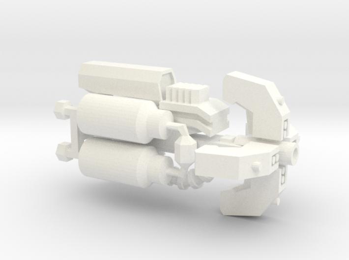 Autobot Beam Gun (Right Handed) 3d printed
