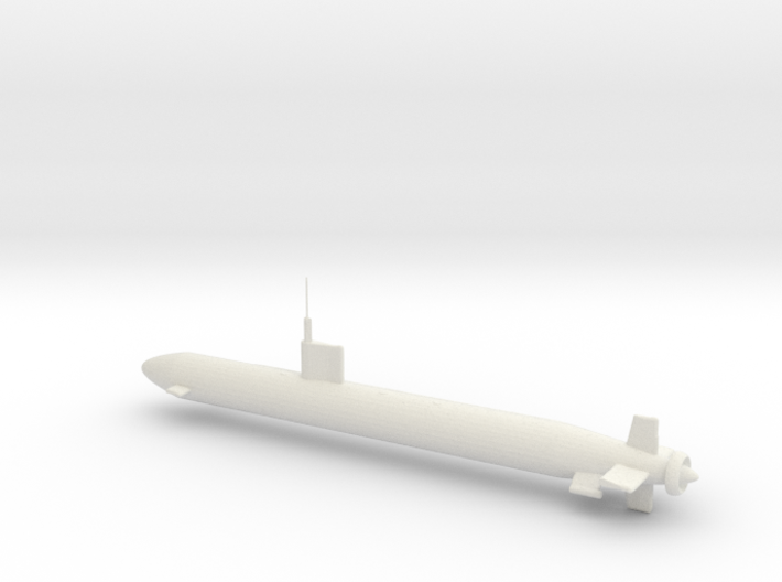 Los Angeles Class Nuclear Powered Attack Sub 3d printed