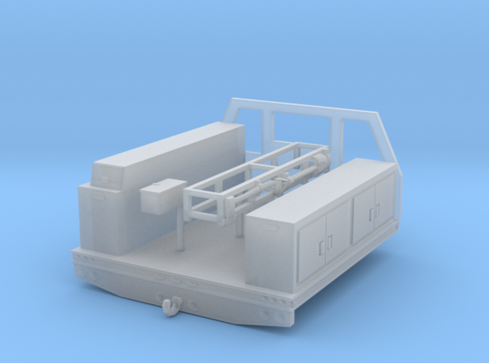 1/64th Fire service utility flatbed 8' wide 3d printed