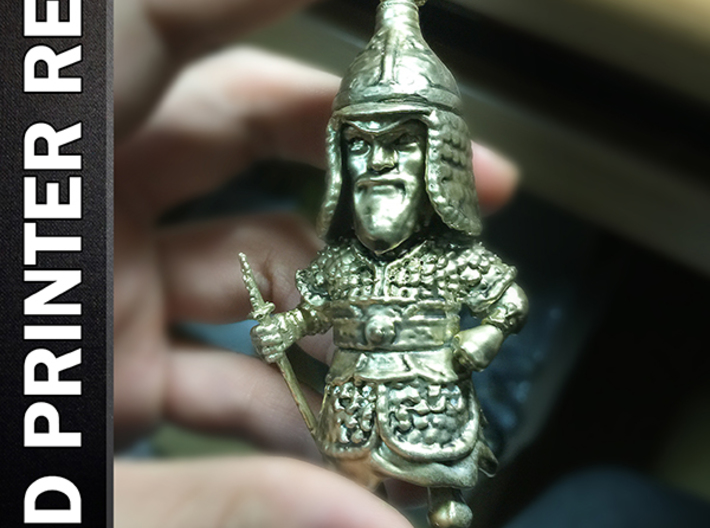 Admiral Yi Sun sin Low Poly Ver 3d printed Add a caption...