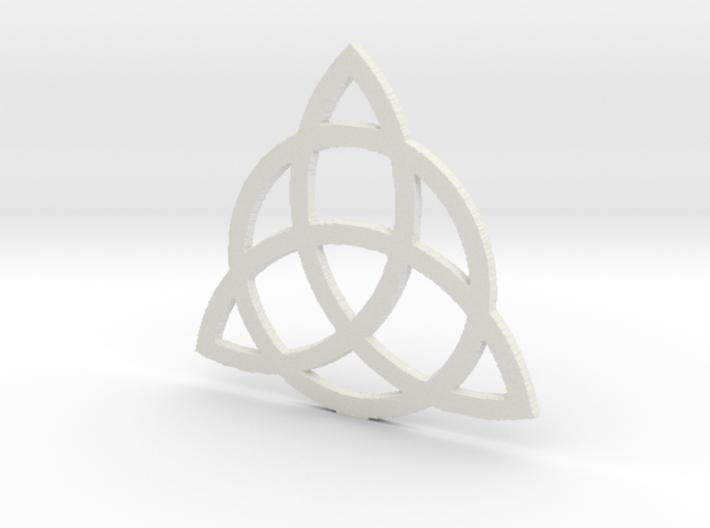 2.7 Triquetra 3d printed