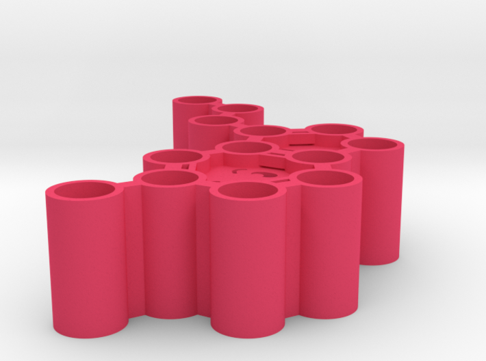 Serotonin Microcentrifuge Tube Rack 3d printed