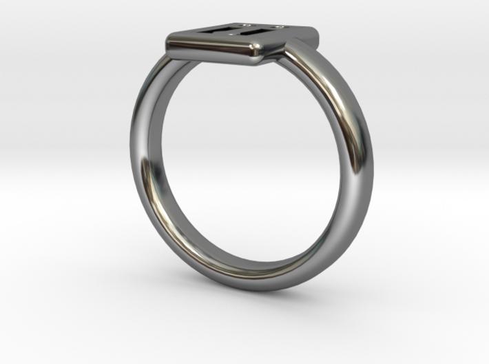 Ahau Ring N6 by Fran Di Prospero - L½ - Ø int. 16. 3d printed