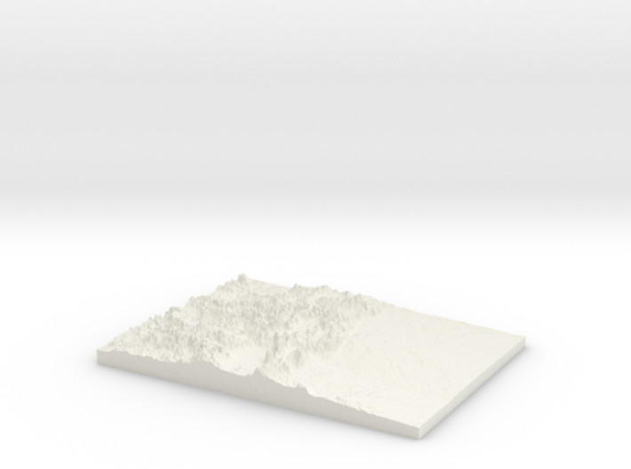 The State of Colorado: Topophile Model #0002 3d printed