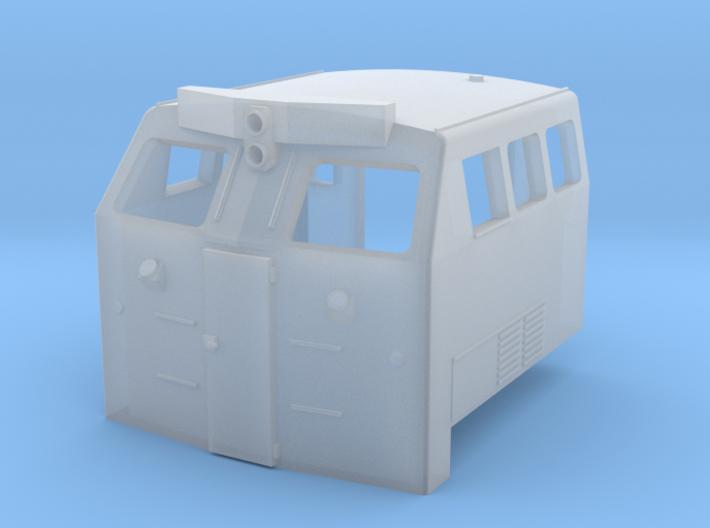 BQ23-7 Cab 3d printed