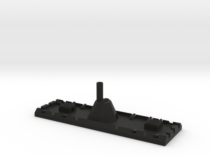 1/600 CSS New Orleans: Ironclad Floating Battery 3d printed