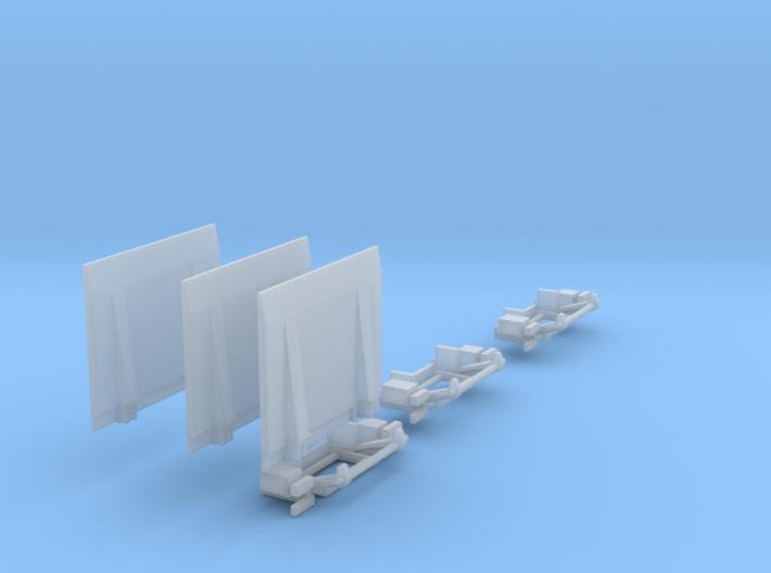 Ladeboardwand Für Sprinter 2,45cm X 2cm Hoch 3x 3d printed