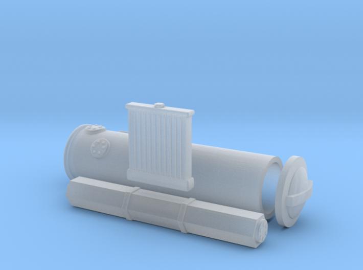 1/87 Z/H6/Holzvergaser/001 3d printed