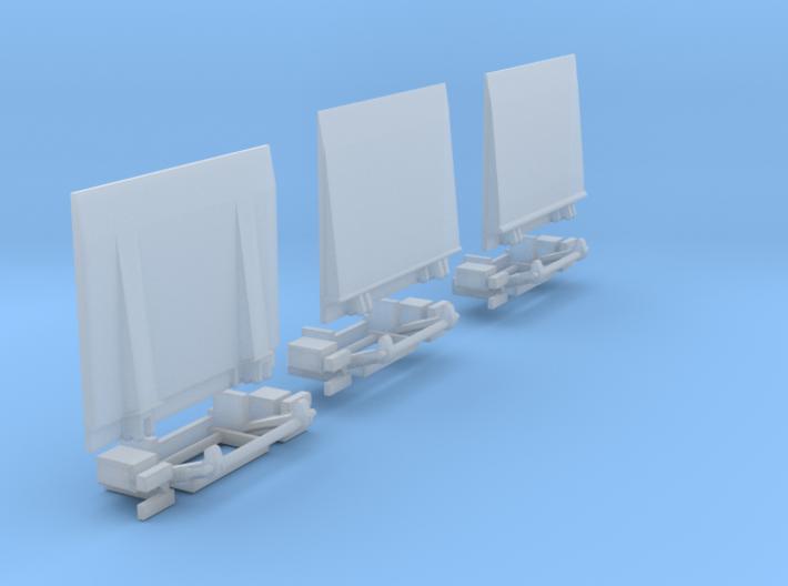Ladeboardwand Für Sprinter 2,45cm X 2cm Hoch Mit 3d printed