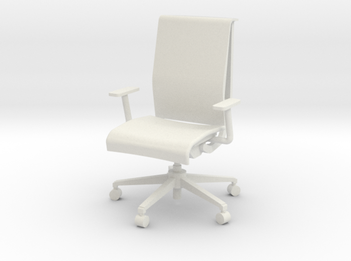 """Steelcase Think Chair 4"""" 3d printed"""