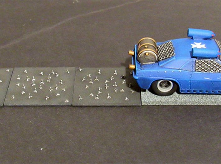 Caltrops 3d printed Car not included!