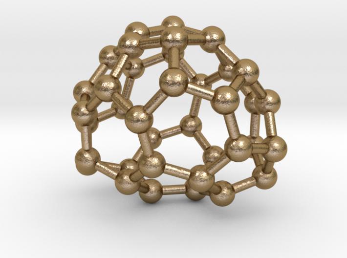 0087 Fullerene c38-6 c2 3d printed