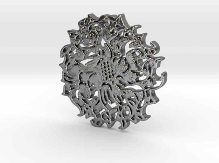 sacred geometry Pendent  3d printed