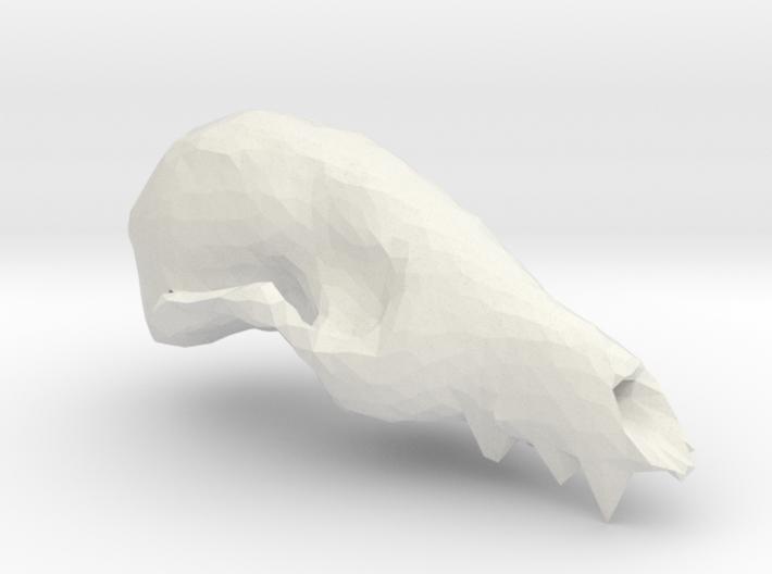 Fox Skull 3D Scan 3d printed