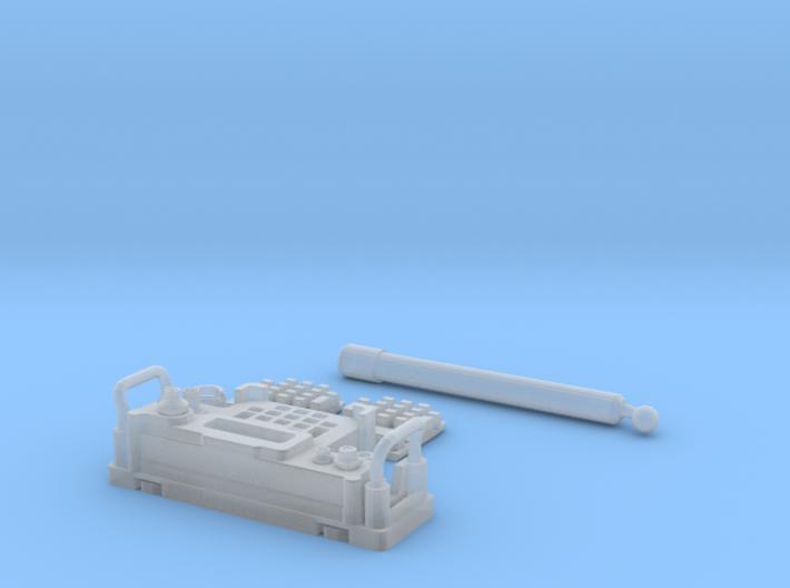 PRC-117G Face FUD DX 1/6 3d printed