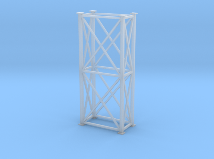 'HO Scale' - 4' x 8' x 20' Tower 3d printed