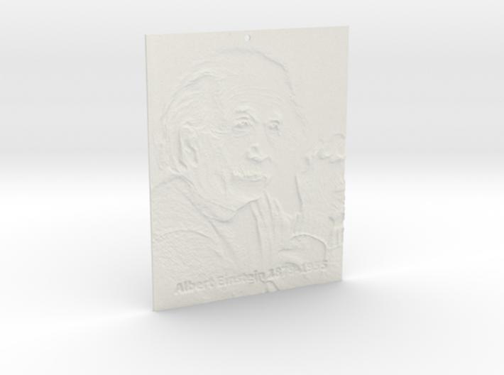 Albert Einstein Shadowgram 3d printed