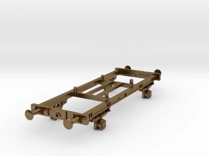 TT scale DSB Hj Vogn (Part 2/2) 3d printed