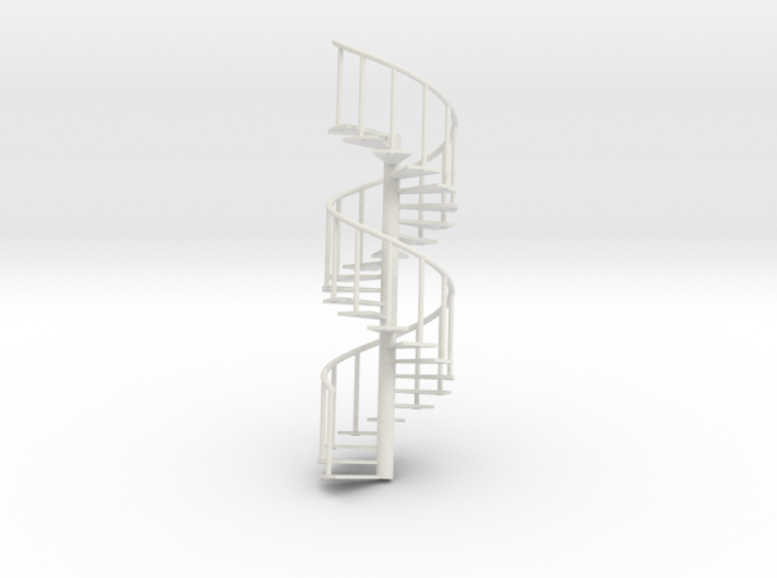 Staircase big: 245mm x 80mm 3d printed