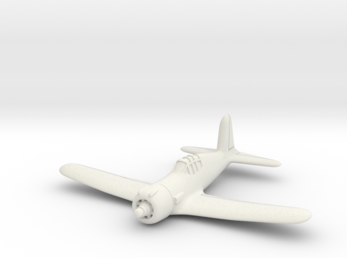 Vultee P-66 Vanguard 1/285 6mm 3d printed