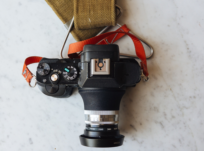 Open Sonnar v2.0 - Focus Adapter for Zeiss 50mm 3d printed