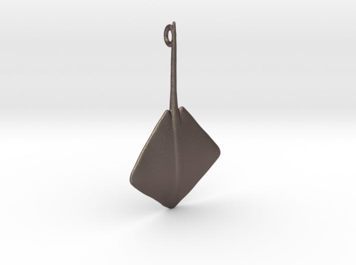 Stingray Pendant 3d printed