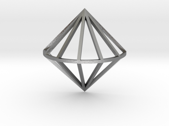 3D Diamond With Center Band 3d printed