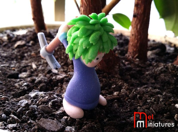 Lemming Miner (Large and in Color) 3d printed