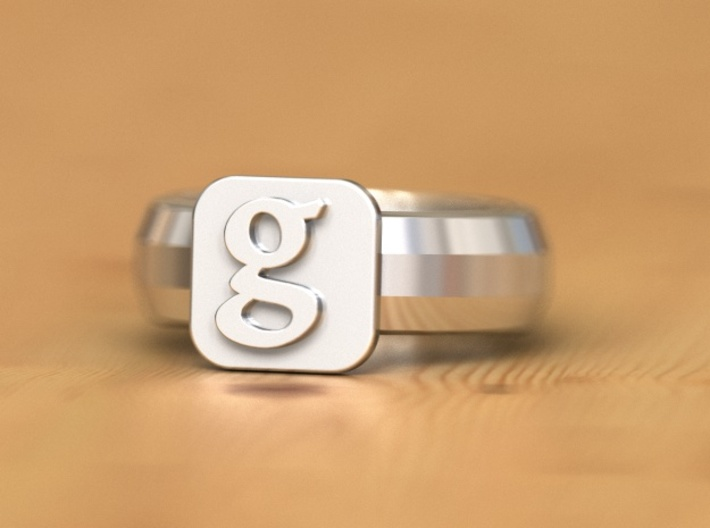 new google ring 3d printed