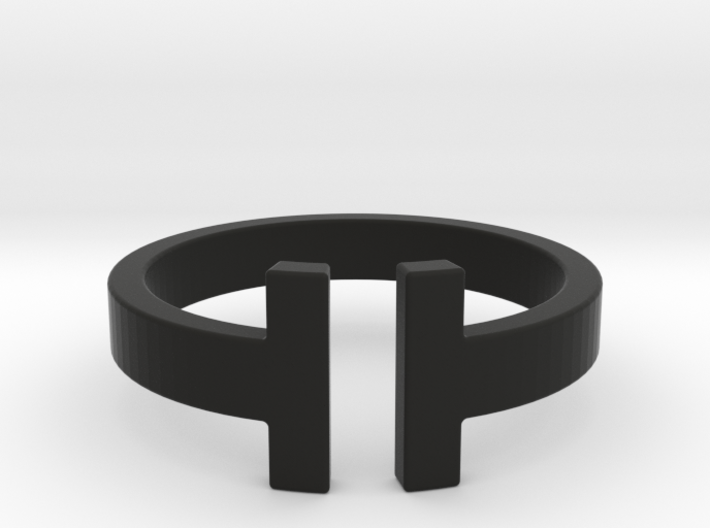 IT Ring 3d printed