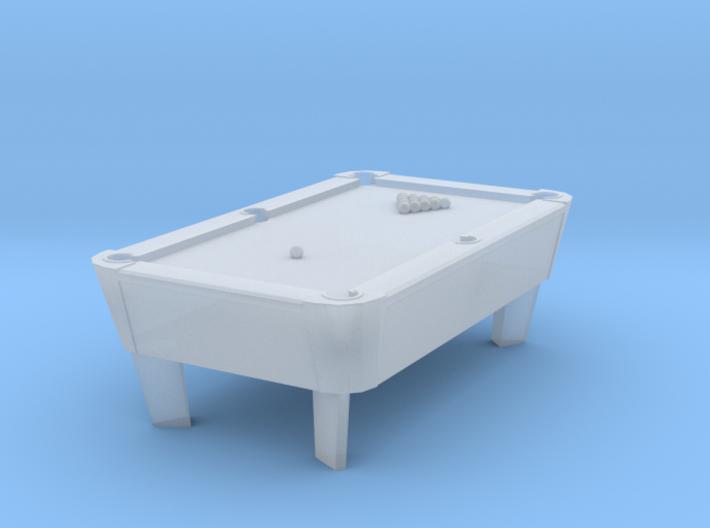 Pool Tables - Balls Racked - No Rack 3d printed