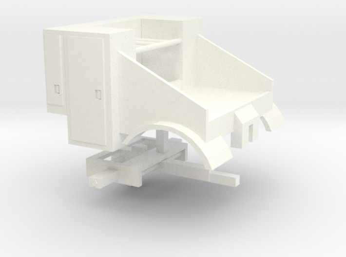 1/64th Scale Mobile Home Toter truck body 3d printed