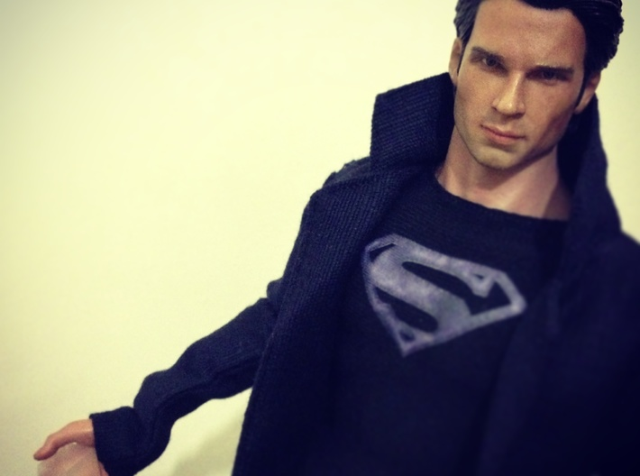 Smallville - Fortress Crystal *1/6th scale* 3d printed This is a custom action figure