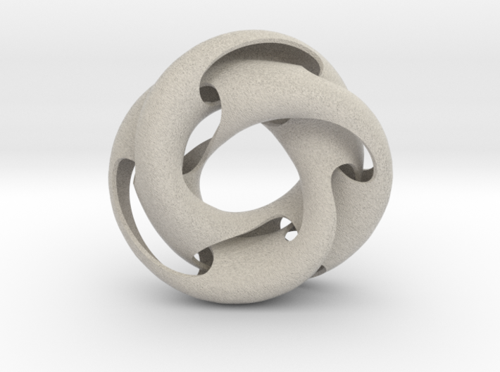 Crossing Torus III 3d printed