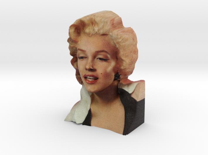 Marilyn Monroe Bust 9cm 3d printed