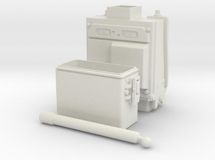 PRC-117G Body WSF DX 2-Part 1/6 3d printed