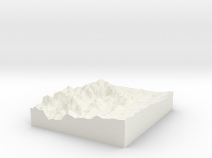 Hoover Dam: Topophile Model #0041 3d printed
