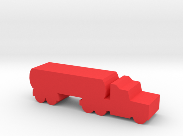 Game Piece, Semi-truck Tanker 3d printed