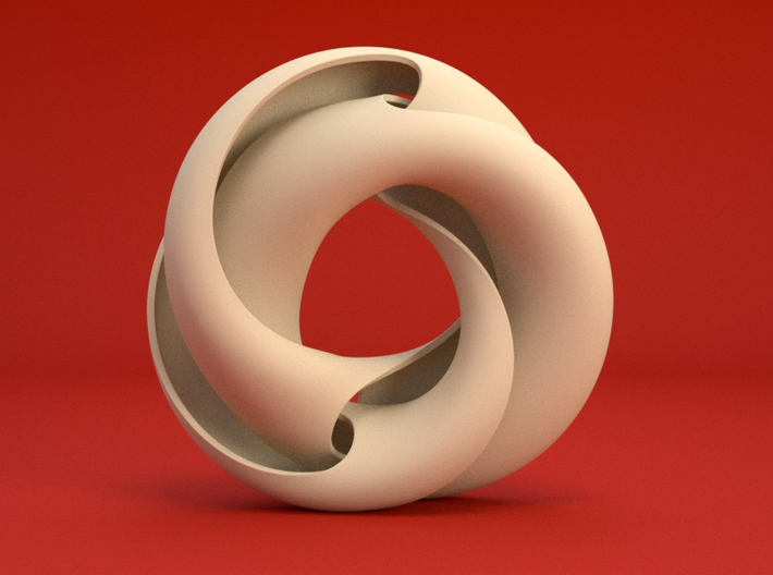 Crossing Torus II 3d printed